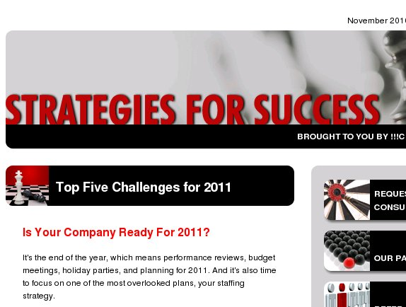 Don't let these challenges derail your company in 2011